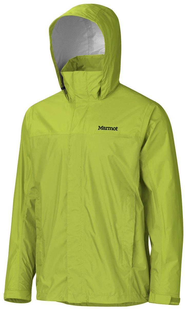 Дождевик мужской Marmot PreCip Jacket, цвет: зеленый. 41200-4425. Размер M(48/50)41200-4425Дождевик PreCip Jacket - станет Вашей надежной защитой в любую непогоду, где бы Вы не находились: вдали от цивилизации или в городских условиях. Легкий функциональный дождевик на межсезонье. Незаменимая вещь весной, летом и ранней осенью. Технология PreCip™ Dry Touch - водостойкий, дышащий материал, 100% водонепроницаемые швы. Легко упаковывается в собственный карман. Особенности: Технология PreCip™ Dry Touch - водостойкий, дышащий материал, 100% водонепроницаемые швы, капюшон имеет возможность хорошего обзора и при необходимости убирается в воротник|PitZips™ - двусторонние молнии в районе подмышек обеспечивают отличную вентиляцию Pack Pockets™ - полувертикальные нагрудные карманы, которыми удобно пользоваться даже с рюкзаком на спине, двойная штормовая планка на передней молнии с застежкой-липучкой Velcro.