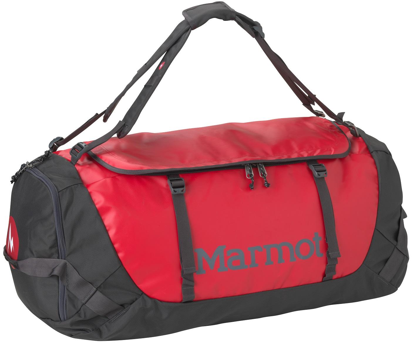 Сумка дорожная Marmot Long Hauler Duffel Bag X Large, цвет: красный, 110 л25250-6281-XLПрочная дорожная сумка Marmot Long Hauler Duffel Bag X Large имеет возможность переноски в виде рюкзака. Выполнена из нейлона и полиэстера. Сумка оснащена ремнем через плечо, и ручками для переноски.Особенности:- Медиа-карман на молнии/Карман-органайзер.- D-образная верхняя молния.- Внутренний карман на молнии.- Надежные застежки-молнии уберегут сумку от внезапного открытия.- Петли для переноски расположены с обеих сторон.