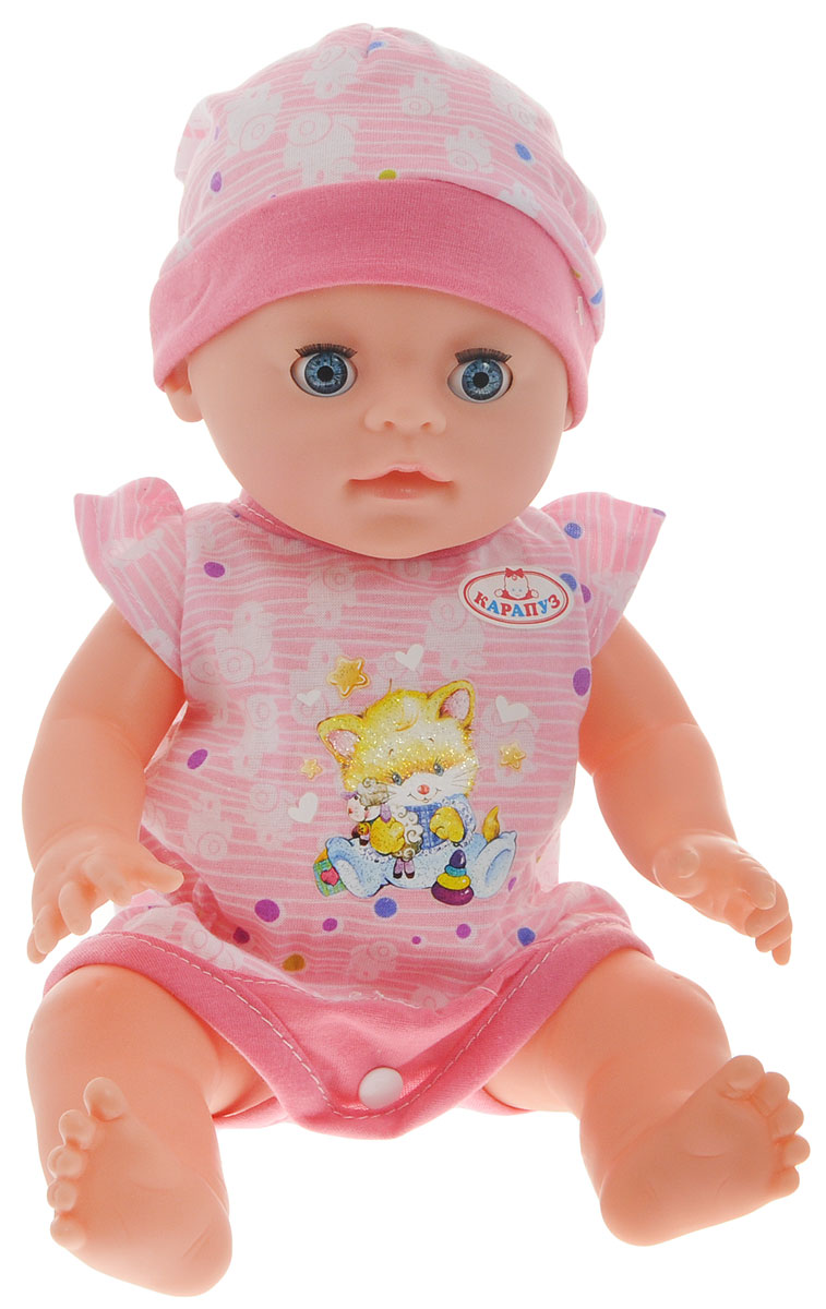 Карапуз Пупс цвет одежды розовый Y35BB-DP-RU карапуз пупс цвет одежды желтый y35bb dp ru