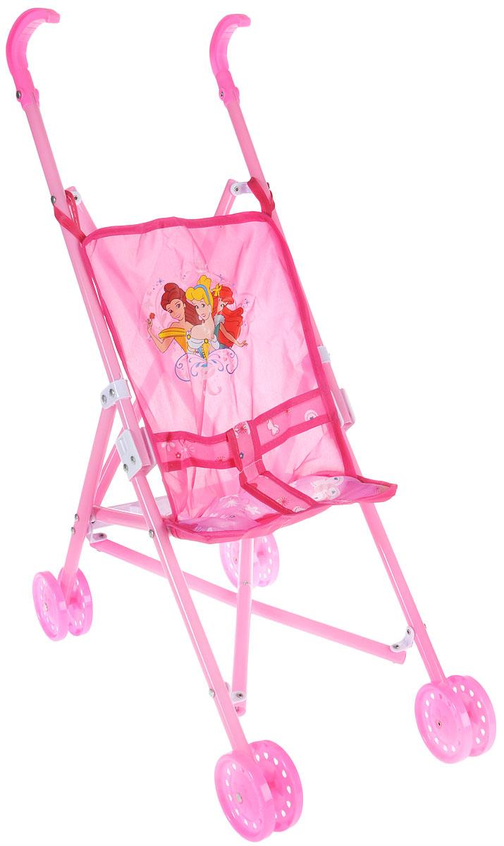 Карапуз Коляска-трость для кукол Принцессы цвет розовый