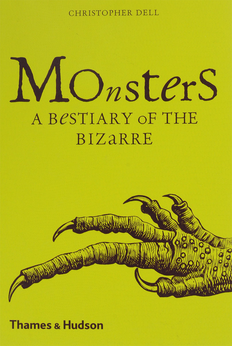 Monsters: A Bestiary of the Bizarre romping monsters stomping monsters