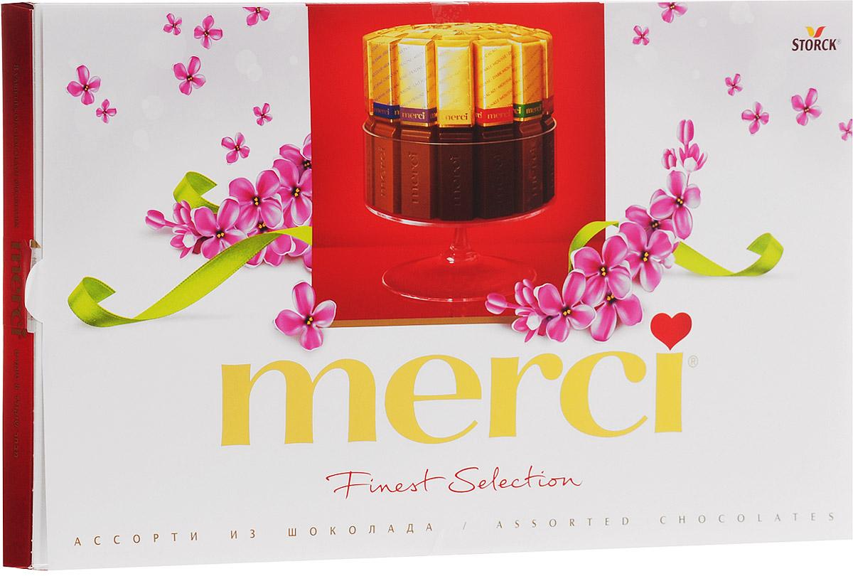 Merci Finest Selection конфеты ассорти, 400 г merci юбка длиной 3 4