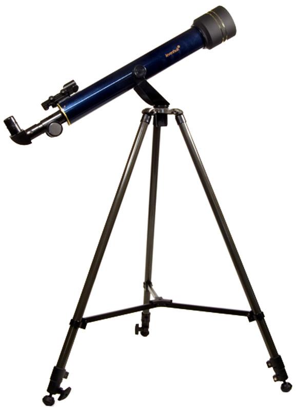 Levenhuk Strike 60 NG телескоп, цвет: черный29269Изучать астрономию станет проще, когда в доме появится телескоп Levenhuk Strike 60 NG! Без излишних настроек, без необходимости докупать дополнительные аксессуары, в комплектации прямо «из коробки» Levenhuk Strike 60 NG позволяет увидеть кpатеpы на Луне, пояса на диске Юпитера и четыре его крупных спутника, фазы Венеpы, наличие колец Сатуpна, компоненты двойных звезд с расстоянием между ними 2,5 секунды дуги (2,5; pазpешающая сила), слабые звезды до 10-й звездной величины (10m; проницающая способность), самые яpкие туманности и галактики: M31, M42, пpекpасный вид Плеяд и двойного скопления в созвездии Пеpсея.Телескоп Levenhuk Strike 60 NG – небольшой и простой в управлении рефрактор на азимутальной монтировке – это то, что необходимо любому начинающему любителю астрономии. Такой телескоп позволяет увидеть намного больше, чем можно рассмотреть невооруженным глазом, в то же время он легок, не занимает много места при хранении и транспортировке и отличается доступной ценой. Подробная инструкция на русском языке поможет разобраться с телескопом даже тем, кто первый раз видит такой прибор, а богатая комплектация телескопов серии Levenhuk Strike не имеет себе равных.Этот телескоп для начинающих наблюдателей ориентирован на неопытных астрономов любого возраста: детей, подростков и взрослых, но при этом обладает отличными оптическими характеристиками. Объектив телескопа – двухлинзовый (ахромат) из высококачественного оптического стекла, на линзы нанесено многослойное просветляющее покрытие. Это снижает потери света в оптике и способствует максимальной яркости и контрастности изображения. Благодаря малому относительному отверстию снижено влияние различных искажений (в первую очередь, хроматизма) на качество изображения. Объектив снабжен съемной блендой для предотвращения возникновения бликов от локальной засветки и выпадения росы на линзах. Объектив телескопа имеет диаметр 60 мм, что позволяет наблюдать множество лунных кратер