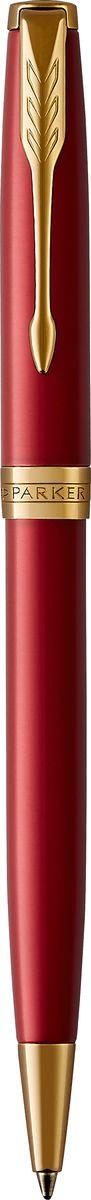 Parker Ручка шариковая Sonnet Laque Red GTPARKER-1931476Шариковая ручка Parker Sonnet Laque Red GT - идеальный инструмент для письма. Материал ручки -нержавеющая сталь с покрытием глянцевого лака глубокого красного цвета, в отделке применяется позолота 23К. Способ подачи стержня: Поворотный. Данный пишущий инструмент поставляется в фирменной подарочной коробке премиум-класса,что делает его превосходным подарком. Произведено во Франции.