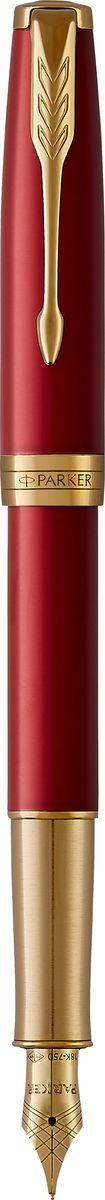 Parker Ручка перьевая Sonnet Laque Red GTPARKER-1931478Sonnet - это ручка для людей, письмо для которых является любимым занятием. Линии стройного корпуса делают ее ценным приобретением. Это ручка для тех, кто способен оценить классическую уравновешенность и красоту. Для тех, кто испытывает наибольшее удовольствие от жизни в условиях комфорта, для людей, привыкших к роскоши. Серия Sonnet отличается тонкой гармонией, с которой в ней соединяются традиция и оригинальность.Данная ручка создана, чтобы быть в центре внимания. Благородное и не выходящее из моды великолепное сочетание цветов - мерцающий золотой и насыщенный красный - подчеркивает изящество каждого элемента дизайна.