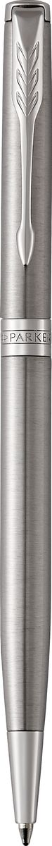 Parker Ручка шариковая Sonnet SLIM Stainless Steel CTPARKER-1931513Шариковая ручка Parker Sonnet Slim Stainless Steel СT - идеальный инструмент для письма. Материал ручки - шлифованная нержавеющая сталь, в отделке применяется палладий и латунь. Способ подачи стержня: поворотный.Бренд Parker гарантирует полную уверенность в превосходном качестве товара. Ручка Parker будет не только долго служить, но и неизменно радовать удобством и легкостью письма, надежностью в эксплуатации и прекрасным эстетическим исполнением. Удивительное разнообразие моделей, а также великолепие и надежность отделки поверхностей позволяют удовлетворить даже самые взыскательные вкусы, обеспечивая при этом безукоризненность исполнения самых разных задач в процессе письма.