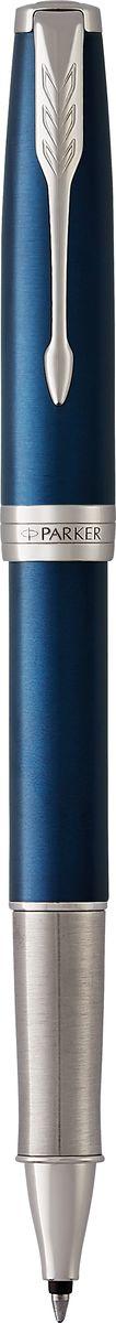 Parker Ручка-роллер Sonnet Laque Blue CTPARKER-1948087Коллекция Parker Sonnet отличается тонкой гармонией, с которой в ней соединяются традиция и оригинальность. Ее уникальность таится в умеренном стиле и классических формах. Это - идеальное сочетание уверенного знания и взвешенной мысли, необходимое во все времена.Изысканное лаковое покрытие синего цвета в сочетании с декоративным элементами, покрытыми палладием. Ручка упакована в фирменную коробку Parker. Система заправки: заменяемые стандартные стержни Parker для ручек-роллеров.