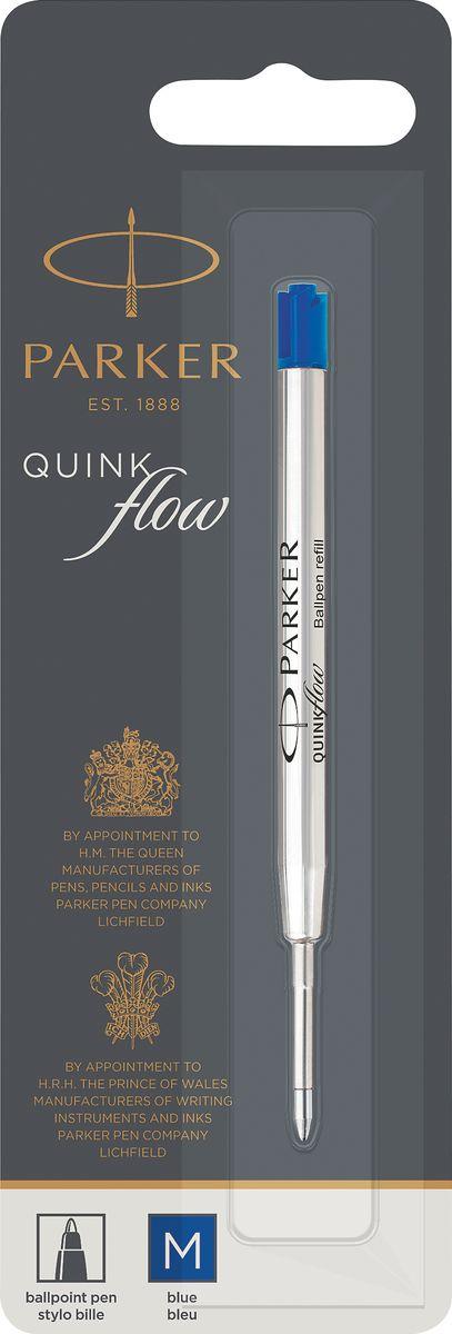 Parker Стержень для шариковой ручки Quink Flow цвет синий ручки parker s1931416