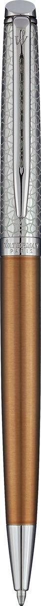 Waterman Ручка шариковая Hemisphere La Collection Privee Bronze Satine CT шариковая ручка waterman perspective корпус и копачок лаковые