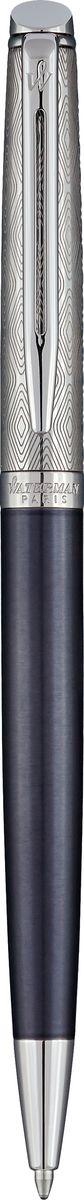 Waterman Ручка шариковая Hemisphere La Collection Privee Saphir Nocturne CT цвет чернил синий ручка шариковая waterman hemisphere deluxe privee 1971674 cuivre ct m синие чернила подар кор