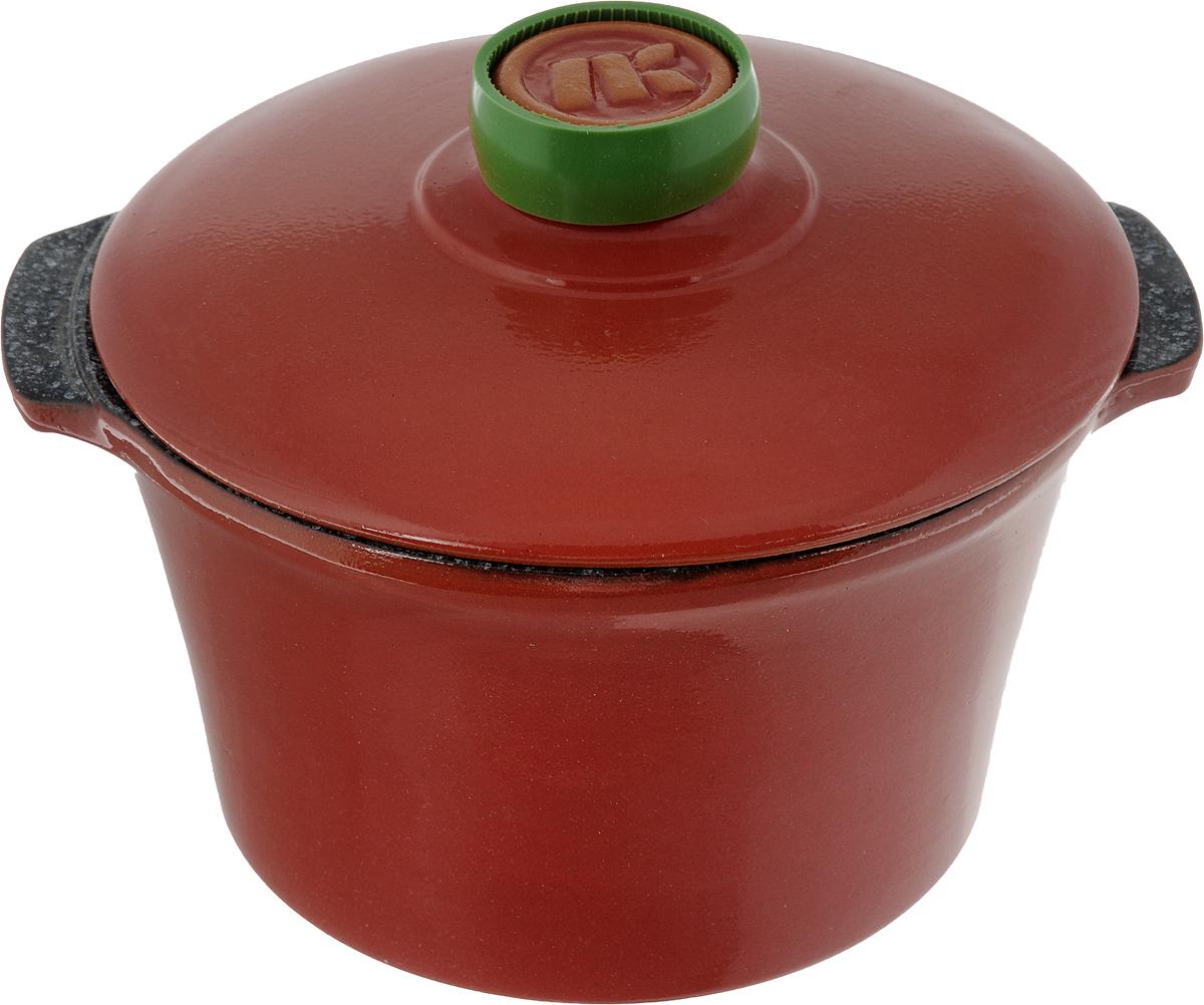 Кастрюля керамическая Ломоносовская керамика Огонек с крышкой, цвет: красный, мраморный, 2 л1КТкр/м-2Кастрюля Ломоносовская керамика Огонек выполнена из высококачественной термостойкой керамики. Покрытие абсолютно безопасно для здоровья, не содержит вредных веществ. Кастрюля оснащена удобными боковыми ручками и керамической крышкой. Она плотно прилегает к краям посуды, сохраняя аромат блюд.Подходит кастрюля для использования на всех типах плит. Для использования на индукционных плитах требуется специальный диск. Благодаря термостойкости материала, кастрюлю можно использовать в духовке и СВЧ. Разрешено мыть в посудомоечной машине. Диаметр: 19,5 см.Высота стенки: 11,5 см.Диаметр дна: 15 см. Ширина кастрюли (с учетом ручек): 22,5 см.Диаметр крышки: 20 см.