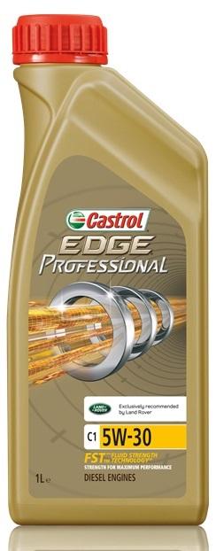 "Масло моторное Castrol ""Edge Professional"", синтетическое, C1 5W-30 Land Rover, 1 л"