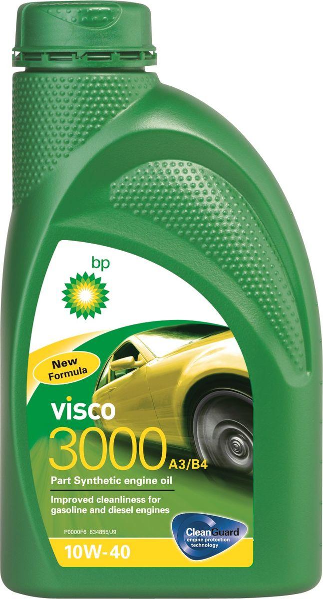 Моторное масло BP Visco 3000 A3/B4 10W-40 12, 1 л157F38Применение BP Visco 3000 A3/B4 10W-40 с технологией защиты двигателя Cleanguard – это высококачественное частично синтетическое моторное масло предназначенное для использования в автомобильных бензиновых и дизельных двигателях, где производитель рекомендует масла соответствующие стандартам API SL/CF или ACEA A3/B4, или более ранним спецификациям. BP Visco 3000 A3/B4 10W-40 также одобрено к применению в двигателях автомобилей Mercedes и VW, где требуются масла спецификаций MB-Approval 229.1 или VW 501 01 / 505 00.Основные преимуществаBP Visco с технологией защиты двигателя Cleanguard: поддерживает чистоту Вашего двигателя длительное время.BP Visco 3000 A3/B4 10W-40 – высококачественное Частично синтетическое моторное масло со следующими преимуществами:- повышенная чистота деталей бензиновых и дизельных двигателей;- дополнительная защита от износа в нормальных условиях эксплуатации;- пониженный расход масла на угар.Спецификации ACEA A3/B4API SL/CFVW 501 01 / 505 00MB-Approval 229.1Meets Fiat 9.55535-D2