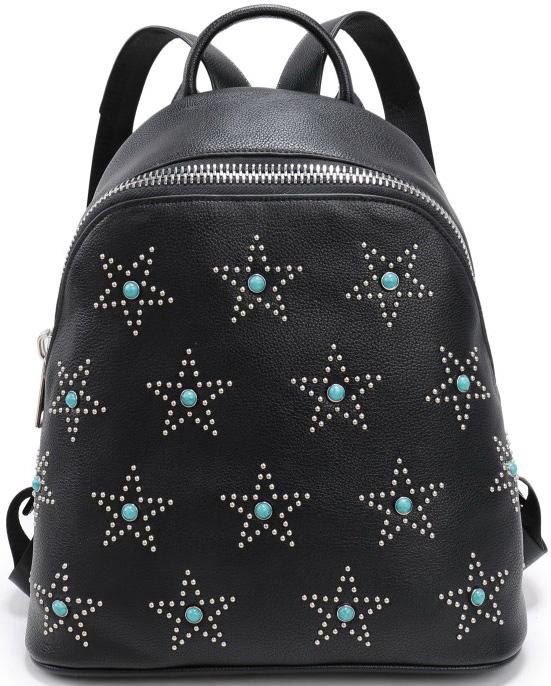 Рюкзак женский OrsOro, цвет: черный. D-259/1