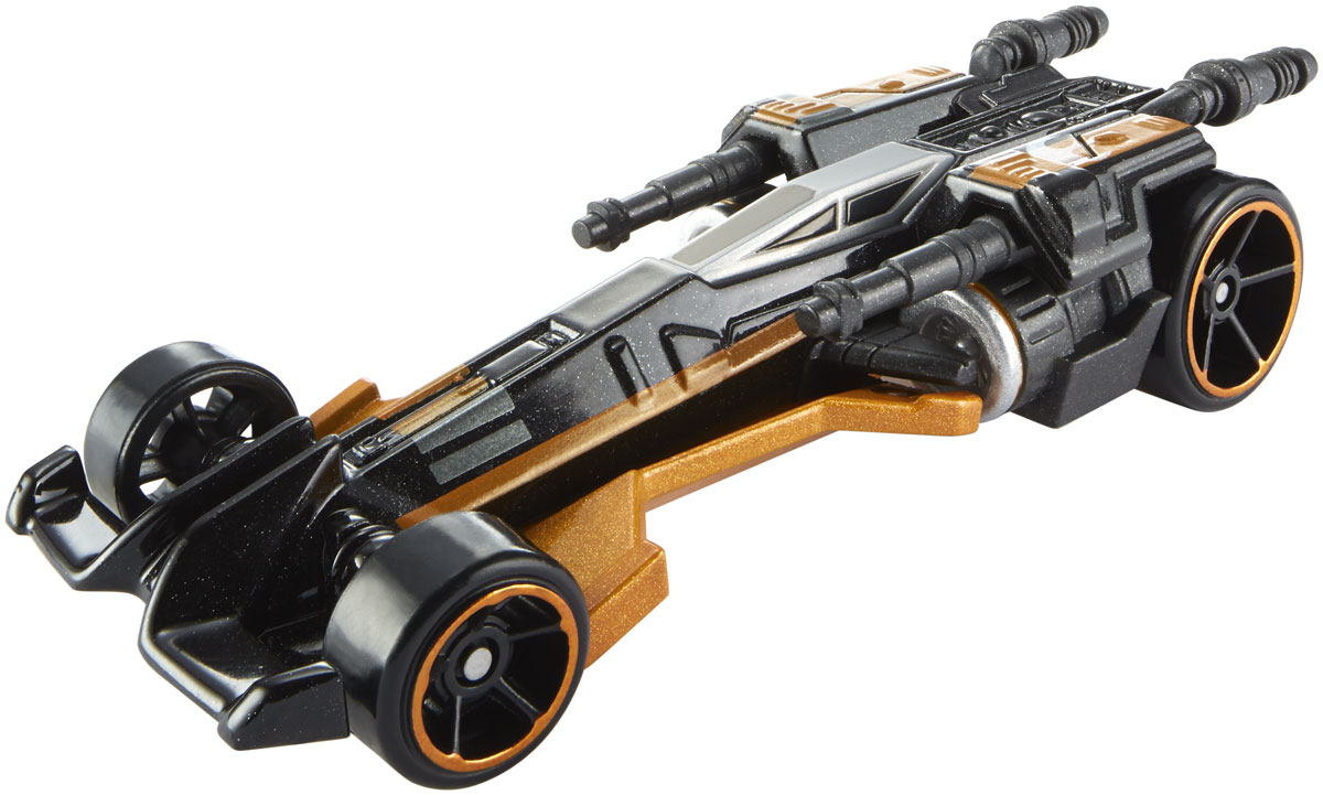 Hot Wheels Star Wars Машинка Poe's X-Wing Fighter hot wheels star wars звездные корабли transporter vs x wing fighter