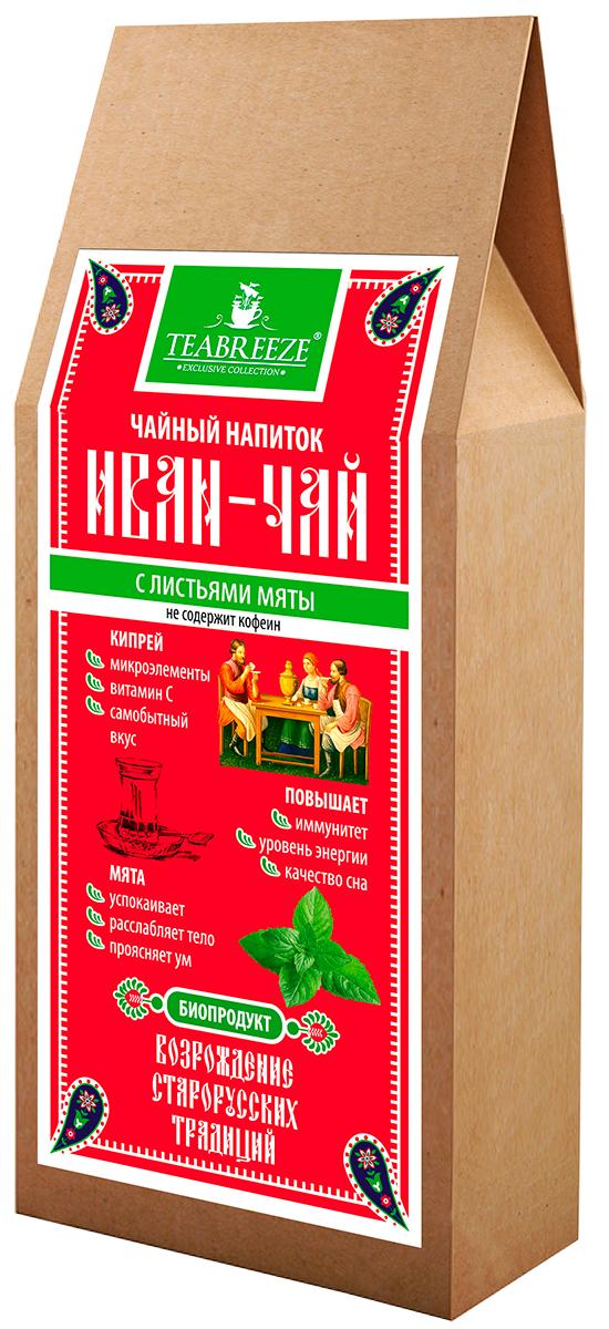 Teabreeze Иван-чай с листьями мяты чайный напиток, 50 г