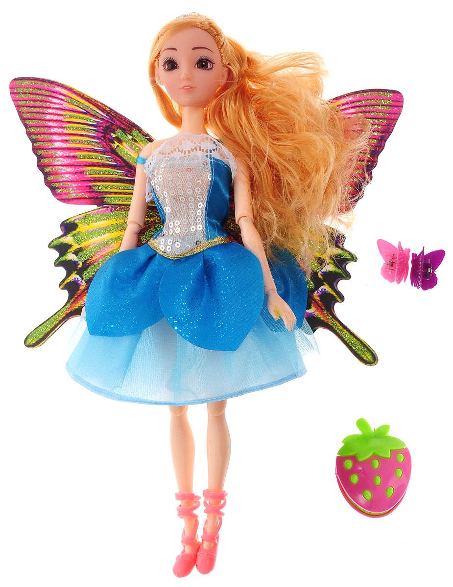 Veld-Co Кукла Фея цвет платья голубой veld co игровой набор с куклой детская поликлиника 47892
