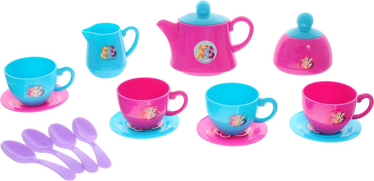 HTI Игрушечный чайный набор My Little Pony 17 предметов hti игрушечный электрический чайник smart