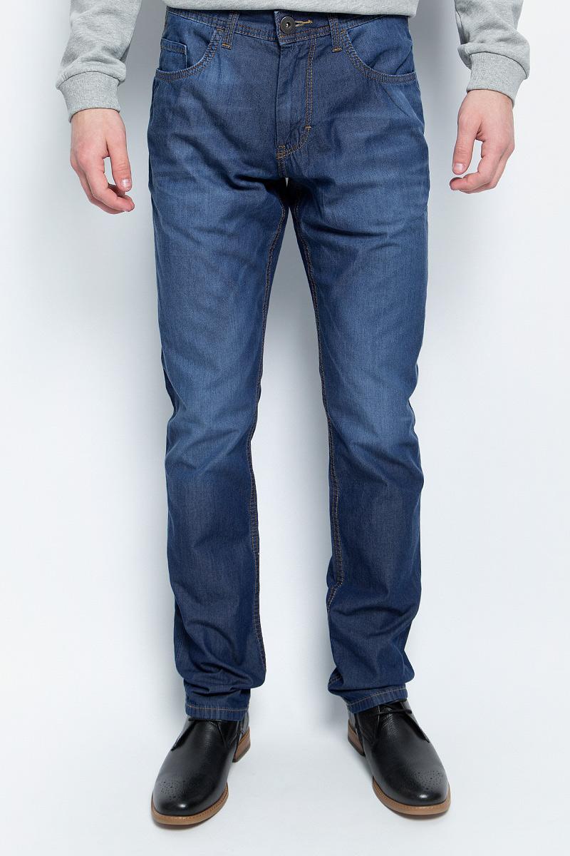 Джинсы мужские Tom Tailor, цвет: синий. 6205177.01.10_1053. Размер 29-34 (44/46-34) джинсы мужские tom tailor denim цвет голубой 6204155 00 12 1062 размер 33 34 48 50 34