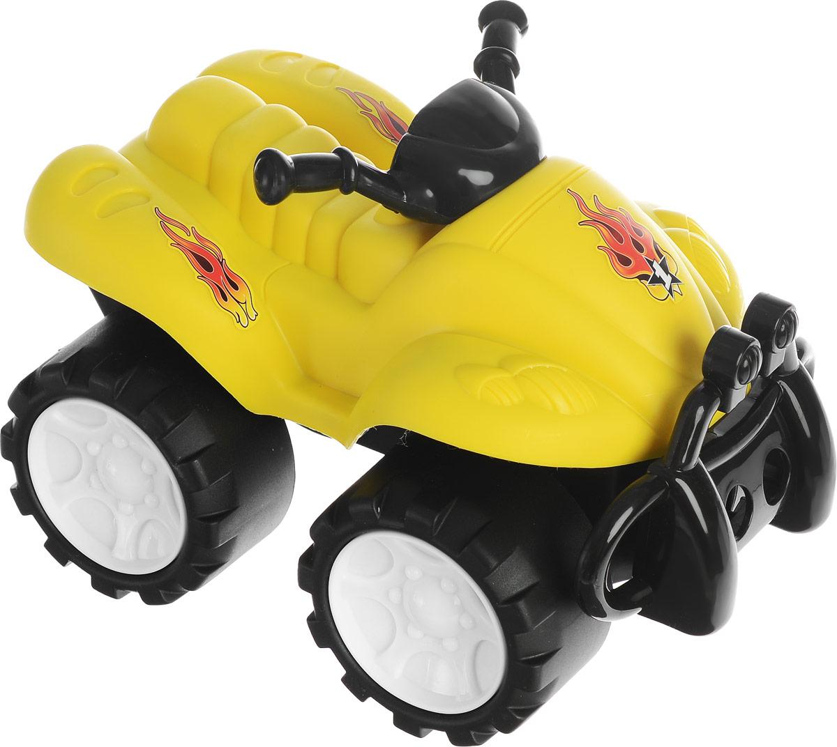 Keenway Машинка-игрушка Big Wheels цвет желтый машинки keenway подъемный кран