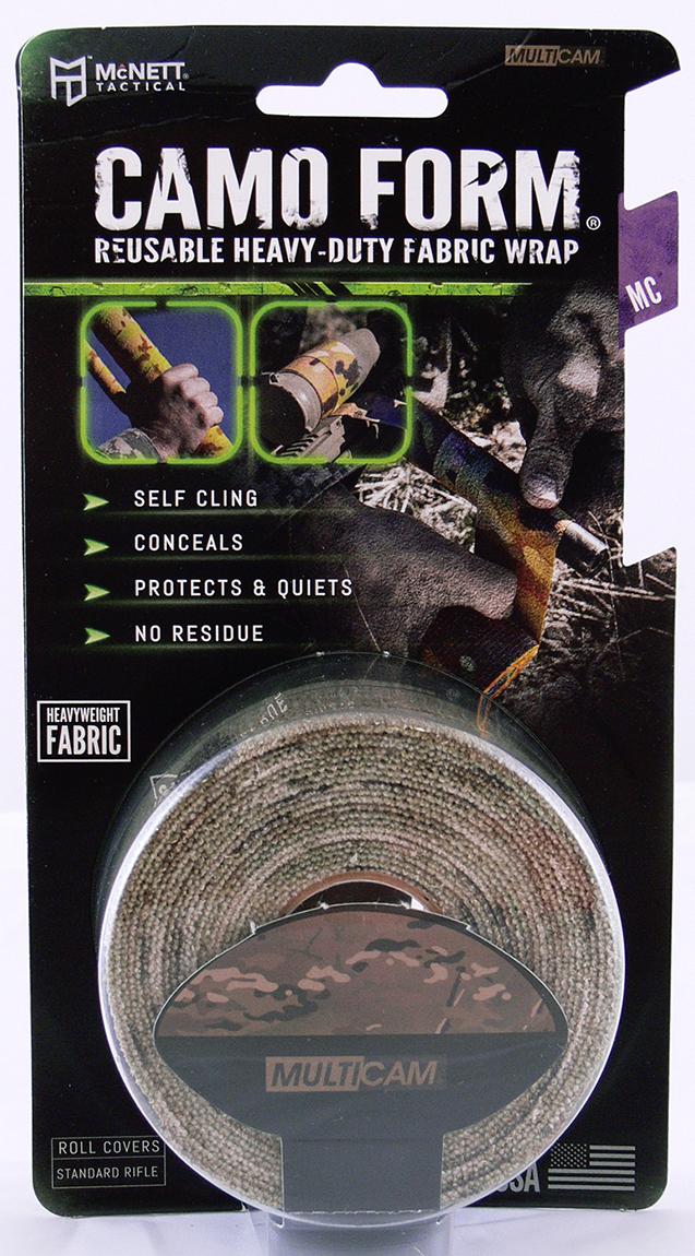 Камуфляжная лента McNett Multicam, многоразовая19418Камуфляжная лента McNett применяется для защиты и маскировки ружей, оптических прицелов, биноклей, фонарей, ножей, фляг и другого снаряжения. Использование ленты позволяет избежать солнечных бликов от оружия, маскирует его, а также защищает от влаги, пыли, механических повреждений, царапин. Уменьшает шум при использовании и вероятность соскальзывания руки. Защищает руки от горячих и холодных поверхностей.Пропитанная латексом, эластичная лента прилипает ко всем поверхностям, прекрасно обтекая их. Прочный и тянущийся материал принимает любую форму, всегда оставаясь на месте.Лента без клейкой основы: при необходимости легко снимается, не оставляет липких следов. Лента может быть использована повторно, что позволяет менять окраску камуфлируемых предметов в зависимости от времени года и вида местности. Не теряет своих свойств в воде и при низких температурах. В экстренных случаях может заменить эластичный бандаж (бинт).Изделие изготовлено из материала, содержащего латекс, и не вызывает аллергических реакций.Ширина: 5 см.Длина: 3,66 м.