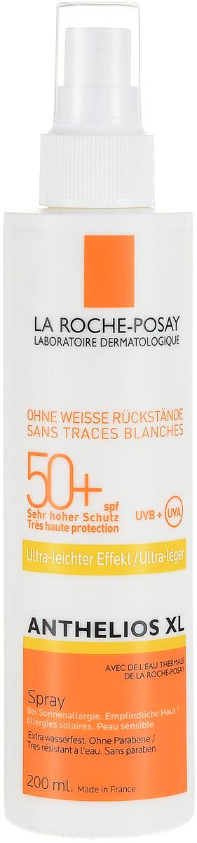 La Roche-Posay Спрей для лица и тела Anthelios XL SPF50+, 200 млM0683601Антгелиос XL спрей для лица и тела SPF 50+ - это идеальная фотозащита для любого типа кожи, даже самой чувствительной, склонной к покраснениям, при нахождении в регионах с высокой инсоляцией. Обновляется каждые два часа при длительном нахождении на солнце. Обеспечивает очень высокую защиту от ожогов, аллергических реакций на солнце. Обеспечивает высокую профилактику фотостарения, пигментации, новообразований кожи. Не оставляет белых следов на коже. Устойчив к действию воды в течение 40 минут. Формула продукта эффективна на открытом солнце до 6 часов. Обеспечивает высокую безопасность, в том числе для очень чувствительной кожи. Матирует на 8 часов