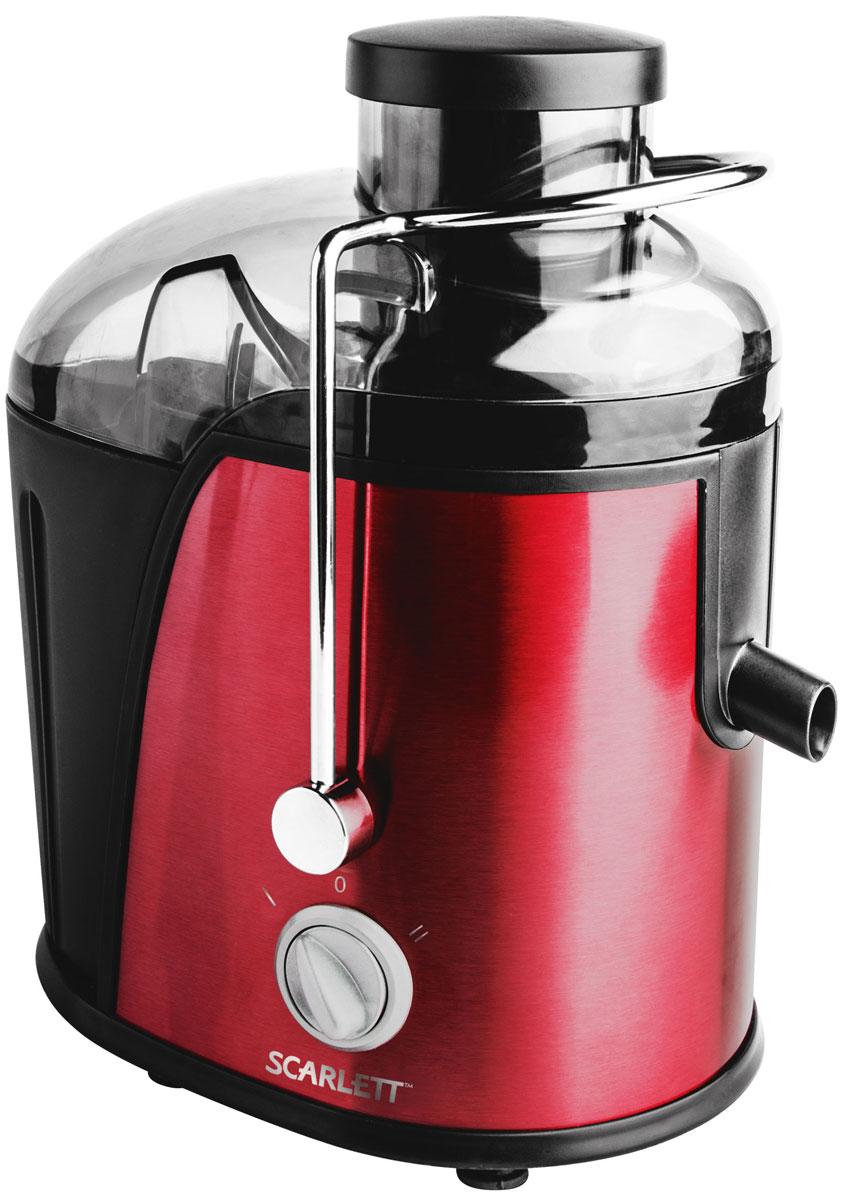 Scarlett SC-JE50S15, Red соковыжималка соковыжималки электрические scarlett соковыжималка цитрусовая scarlett sc je50c03 90вт