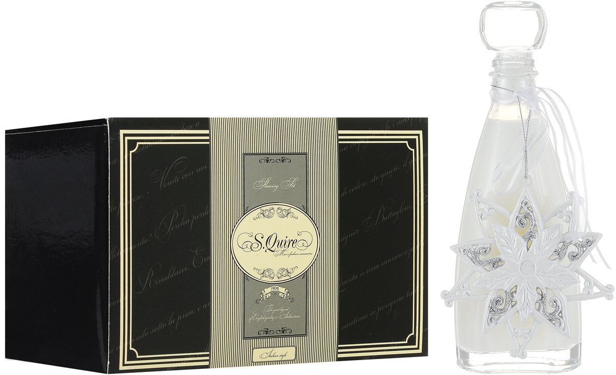 Подарочный набор для бритья S.Quire + ПОДАРОК 5036713 Пена для ванны Accentra Snowfall серии Starlight, 255 мл, Аромат: кокос футболка esprit esprit es393egrhk66
