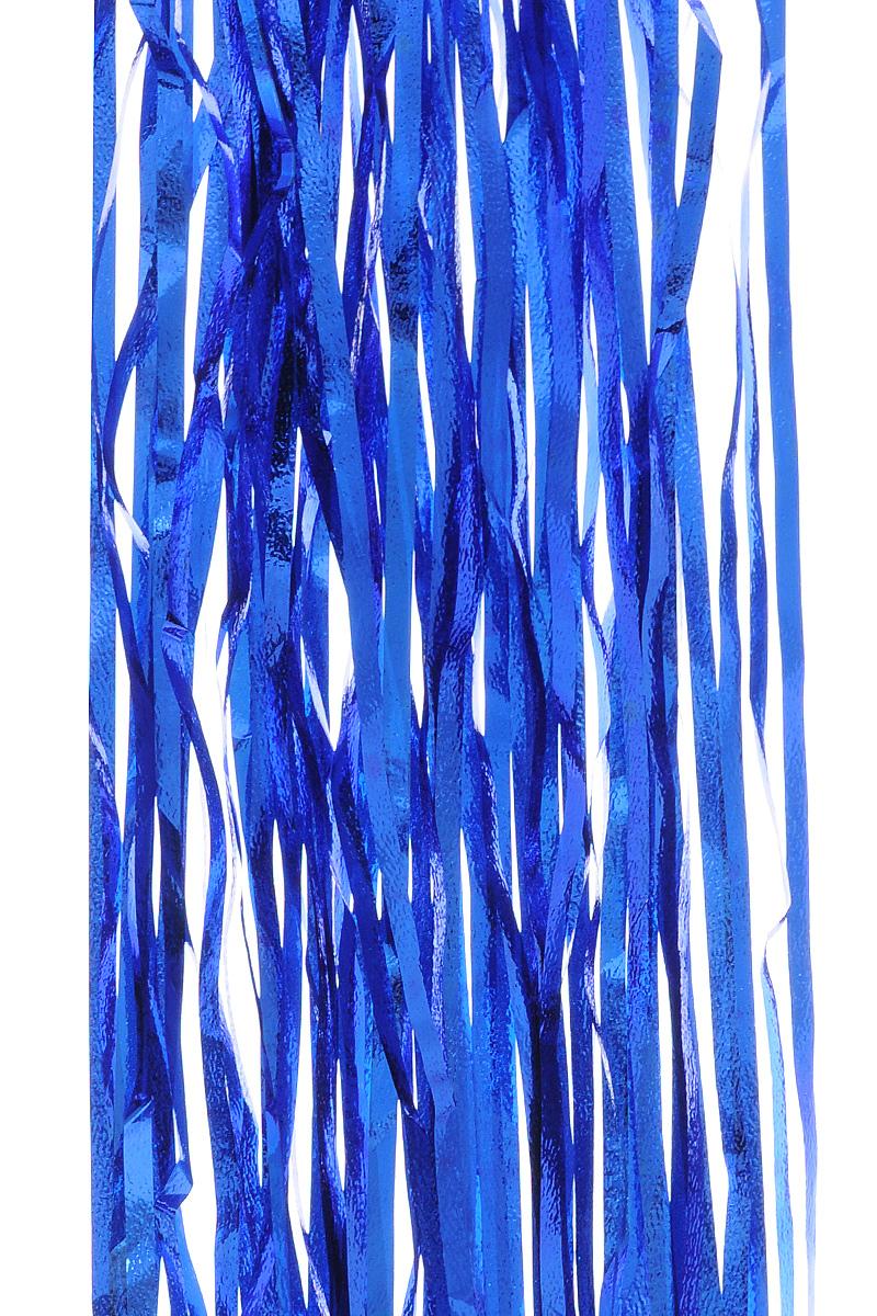 Дождик новогодний Sima-land, цвет: синий, 18,5 см х 100 см. 702535702535 _синийДождик новогодний Sima-land, изготовленный из фольги, поможет вам украсить свой дом к предстоящим праздникам.Новогодняя елка с таким украшением станет еще наряднее. Новогодним дождиком можно украсить все, что угодно - елку, квартиру, дачу, офис - как внутри, так и снаружи. Можно сложить новогодние поздравления, буквы и цифры, дождиком можно украсить и дополнить гирлянды, можно выделить дверные колонны, оплести дверные проемы. Ширина: 18,5 см.Длина: 100 см.