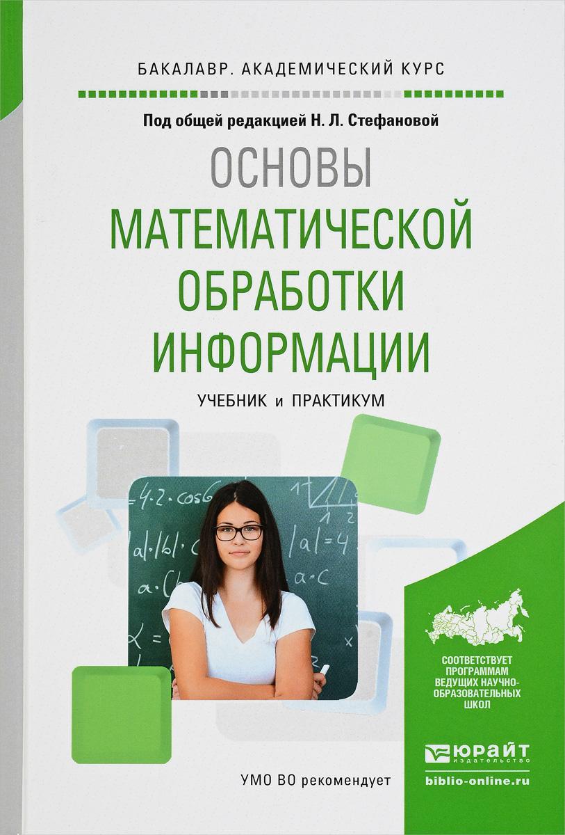 Основы математической обработки информации. Учебник и практикум