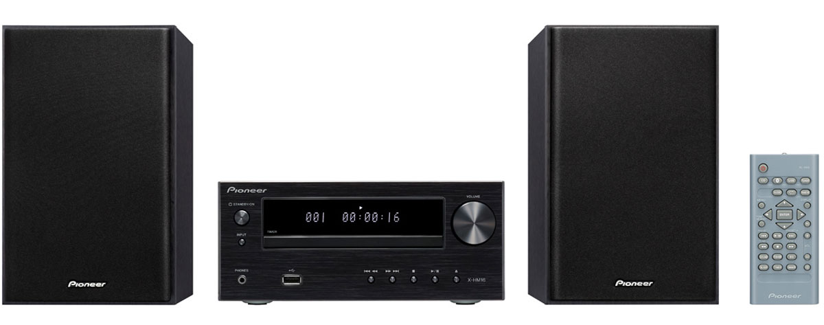 Pioneer X-HM16-B музыкальный центр - Музыкальные центры