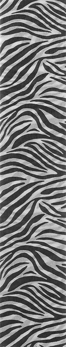 Mazari Бумага крепированная Анималистичные принты Зебра 5 листов 50 х 250 см mazari ножницы детские meer 12 см