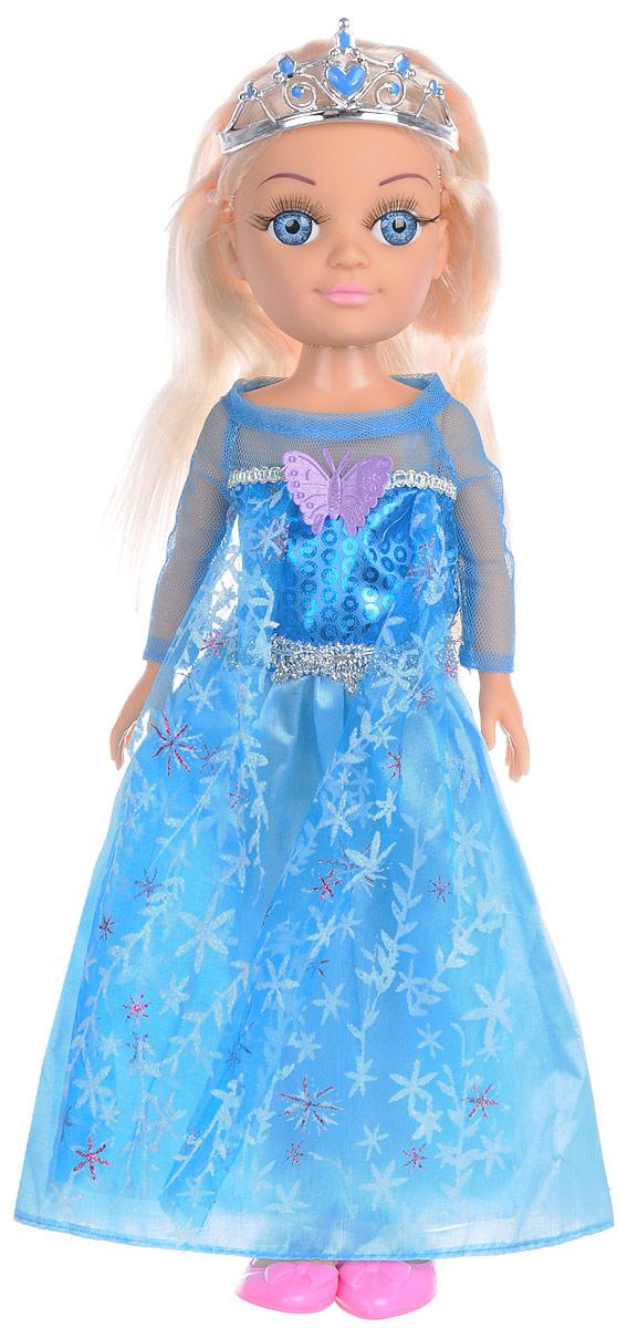 Карапуз Кукла озвученная Принцесса цвет платья голубой куклы карапуз кукла карапуз disney принцесса cофия