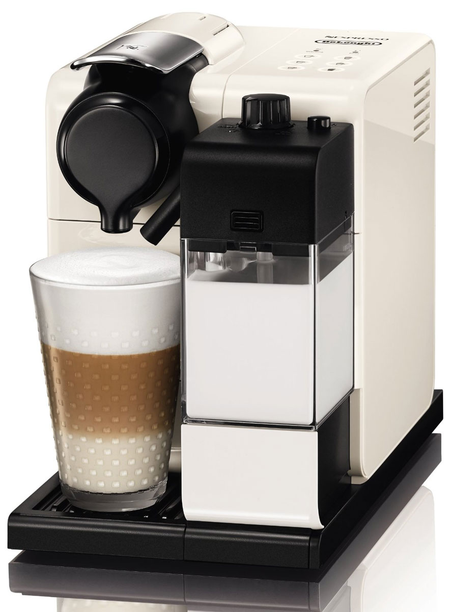 DeLonghi EN550.W Nespresso Lattissima Touch, White кофеварка вспениватель молока delonghi emfi w white