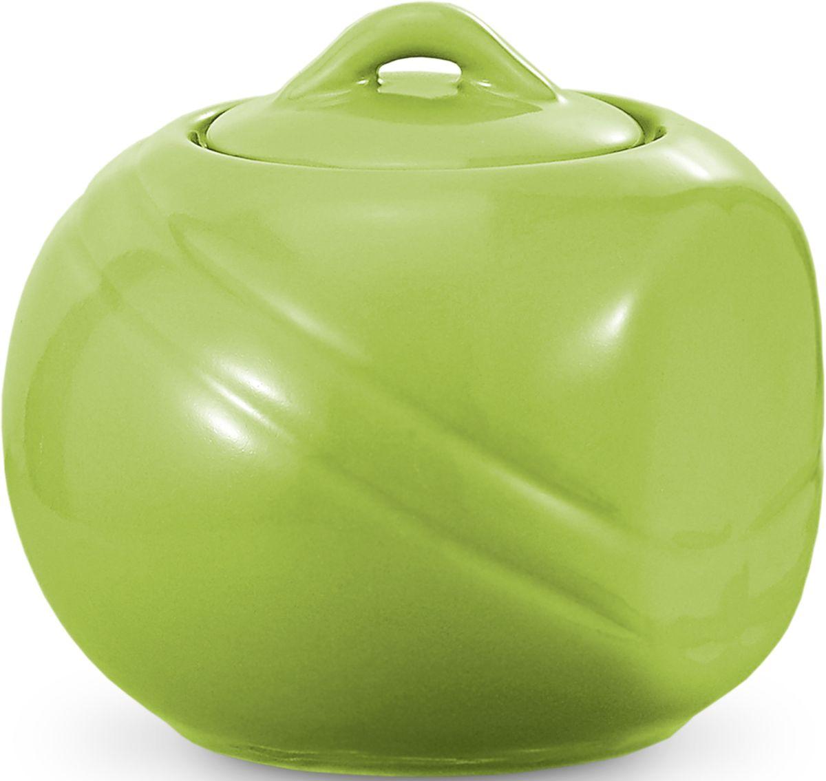 Сахарница Fissman, цвет: зеленый, 350 мл. 9303SB-9303.350