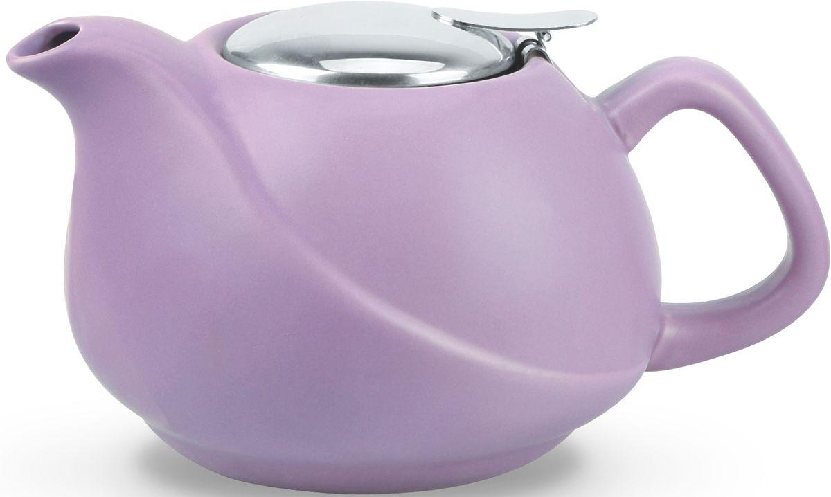Заварочный чайник Fissman, с ситечком, цвет: лиловый, 750 мл. 9326 fissman