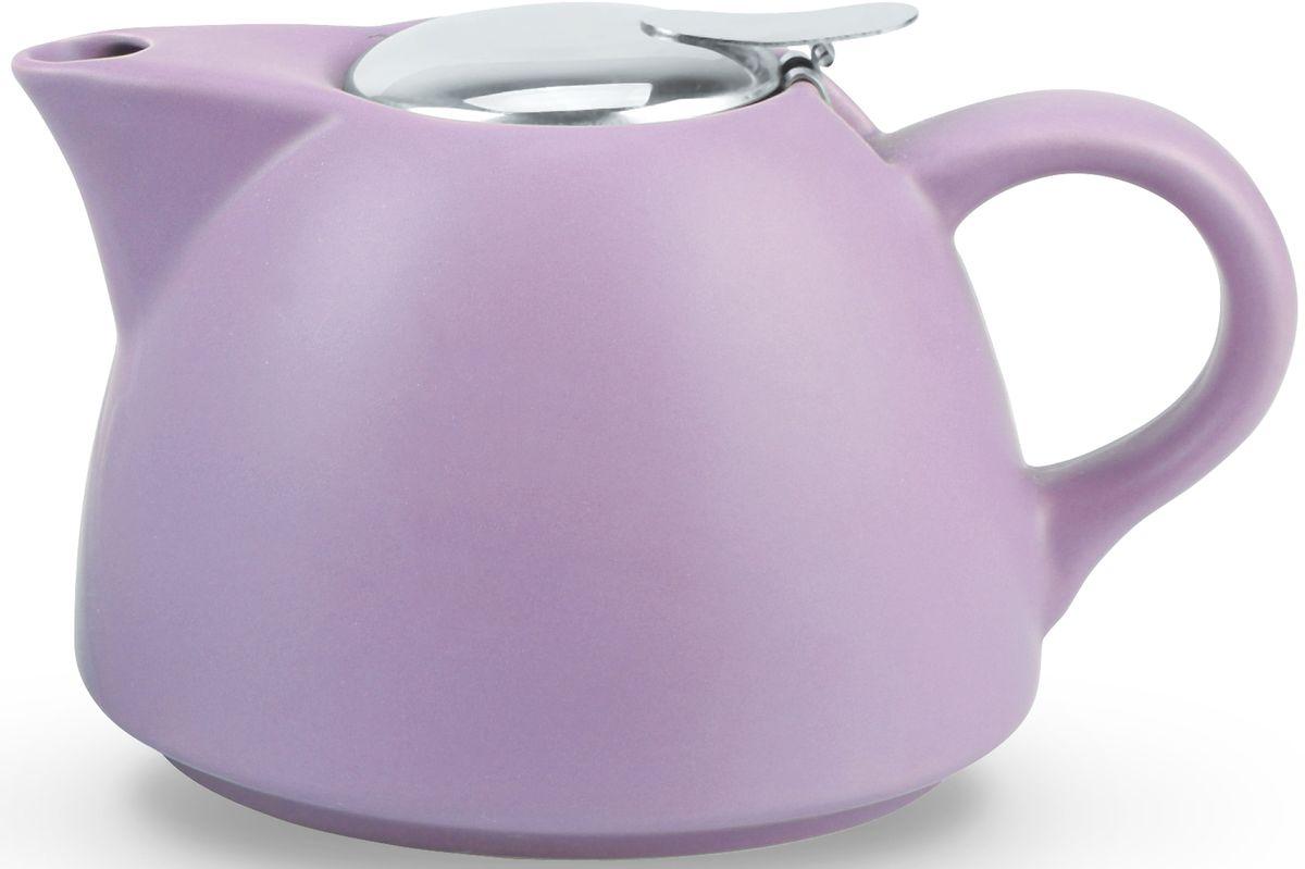 Заварочный чайник Fissman, с ситечком, цвет: лиловый, 1000 мл. 9327TP-9327.1000