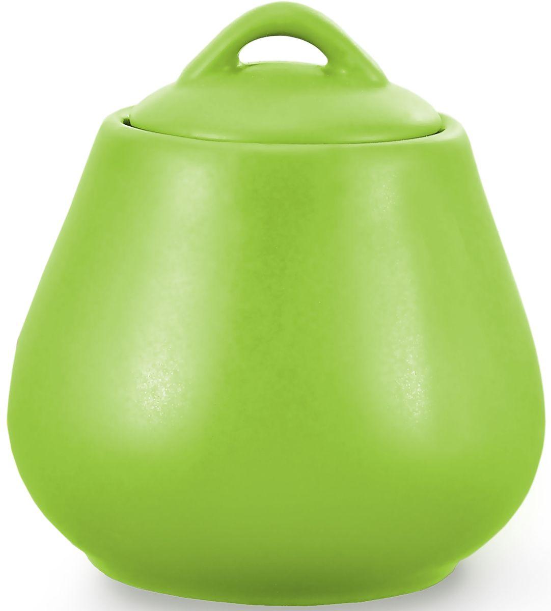 Сахарница Fissman, цвет: зеленый, 600 мл. 9332SB-9332.600Сахарница Fissman выполнена из высококачественной керамики. Изделие имеет элегантную форму и закрывается крышкой.Сахарница Fissman станет отличным дополнением к сервировке семейного стола и замечательным подарком для ваших родных и друзей.Можно мыть в посудомоечной машине и использовать в микроволновой печи.