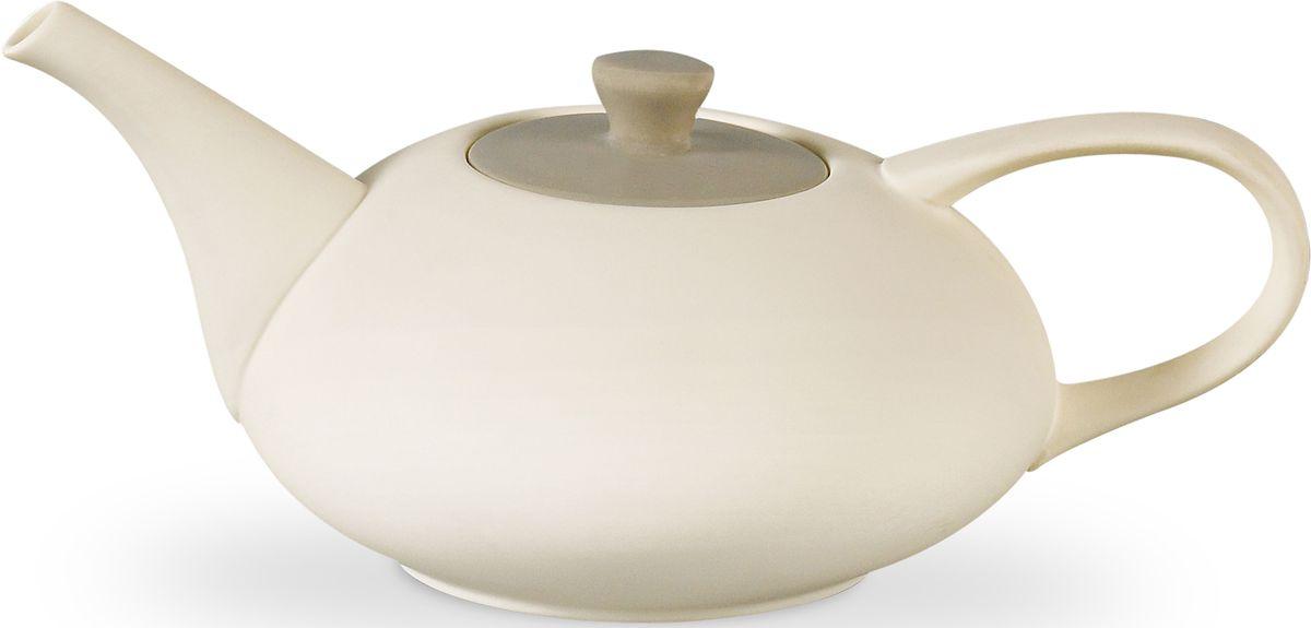 Заварочный чайник Fissman Sweet Dream, цвет: кремовый, 575 мл. 9356 fissman заварочный чайник 750 мл с ситечком tp 9204 750 fissman