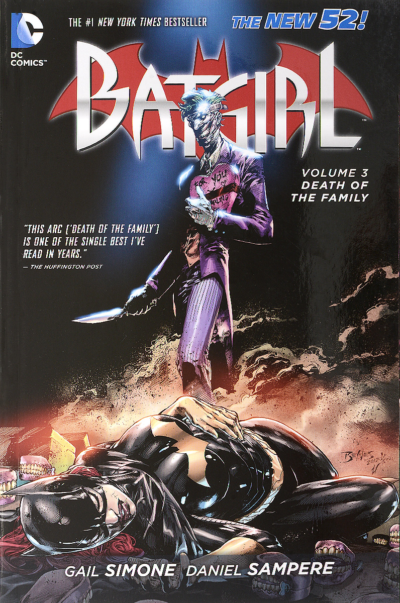 Batgirl: Volume 3: Death of the Family the joker the clown prince of crime