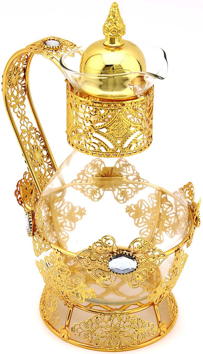 Чайник заварочный Marquis, 1,5 л. 8010-MR8010-MRЧайник заварочный Marquis изготовлен из нержавеющей стали с никель-серебряным покрытием (гальваника) и стекла. Изделие прекрасно подходит для заваривания вкусного и ароматного чая и травяных настоев. Оригинальный дизайн сделает чайник настоящим украшением стола. Он удобен в использовании и понравится каждому.Уход: Сухая чистка (протирать влажной тряпочкой без использования абразивных средств).
