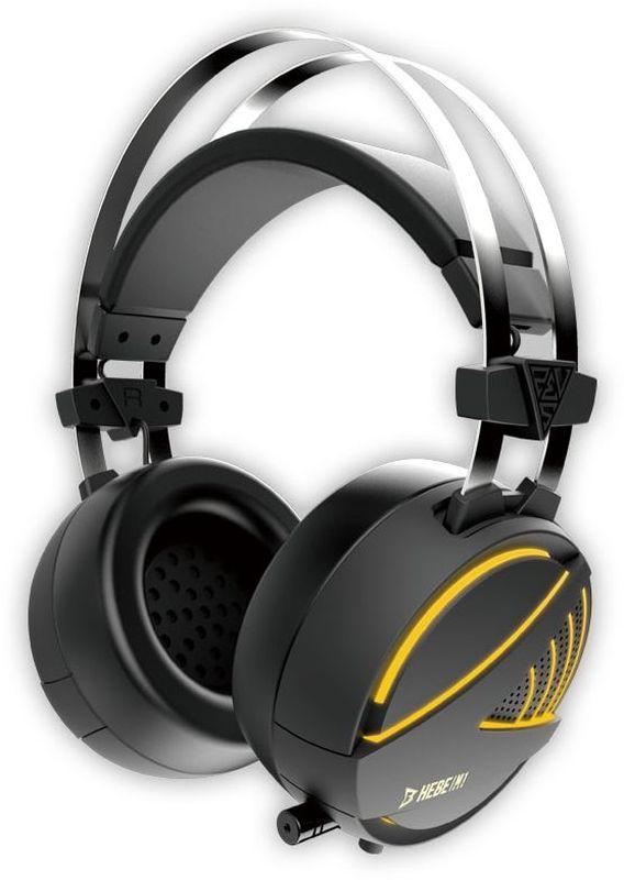 Gamdias Hebe 7.1 Vibro RGB игровые наушникиHEBE M1 7.1Игровая Gamdias Hebe M1 имеет комфортные удобные амбушюры и обеспечивает высокую точность звучания.Виртуальный объемный звук 7.1 и драйверы с неодимовыми магнитами обеспечивают непревзойденное качество звука с четким звуковым позиционированием.Микрофон может быть зафиксирован в любой удобной позиции. Он оснащен технологией шумоподавления, препятствующей попаданию посторонних звуков в голосовой канал.50-миллиметровые динамики обеспечивают непревзойденное качество звука с идеальным балансом высоких и низких частот.Специально разработанные для многочасовых игровых сессий, игровые амбушюры Gamdias гарантируют комфорт и отлично изолируют от внешних шумов.Низкие частоты преобразуются в пульсацию, равномерно распределяемую по амбушюрам, чтобы дать возможность почувствовать звук.