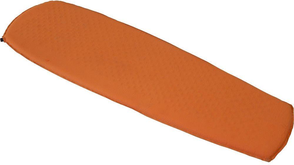 Коврик самонадувающийся Nova Tour Стоун 5, цвет: оранжевый, 183 х 51 х 5 см