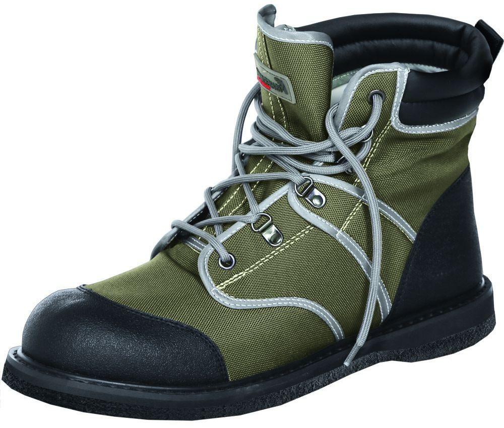 Ботинки для рыбалки FisherMan Nova Tour Аэр Фелт, цвет: хаки. 95943-530. Размер 43AG-Uni-ATV/SMB-Mittens-BL/RСпециальные ботинки для забродной рыбалки на войлочной подошве
