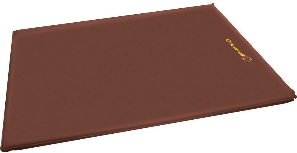 Коврик самонадувающийся Greenell ДеЛюкс, цвет: коричневый, 198 х 96 х 10 см95975-232-00Удобный самонадувающийся коврик Greenel ДеЛюкс имеет увеличенную ширину и очень комфортную толщину 10 см. Он отлично подойдет для семейных выездов на природу, в походах и кемпинге.Эластичная ткань верха хорошо повторяет контур тела и дает ощущения уюта. Благодаря двум металлическим клапанам его можно быстро надуть и сдуть очень много раз. Удобная упаковка для перевозки. Вся серия ковриков соединяется между собой липучкой.<br