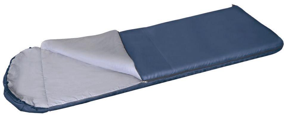 Мешок спальный Greenell Корк +4, цвет: синий, правая молния