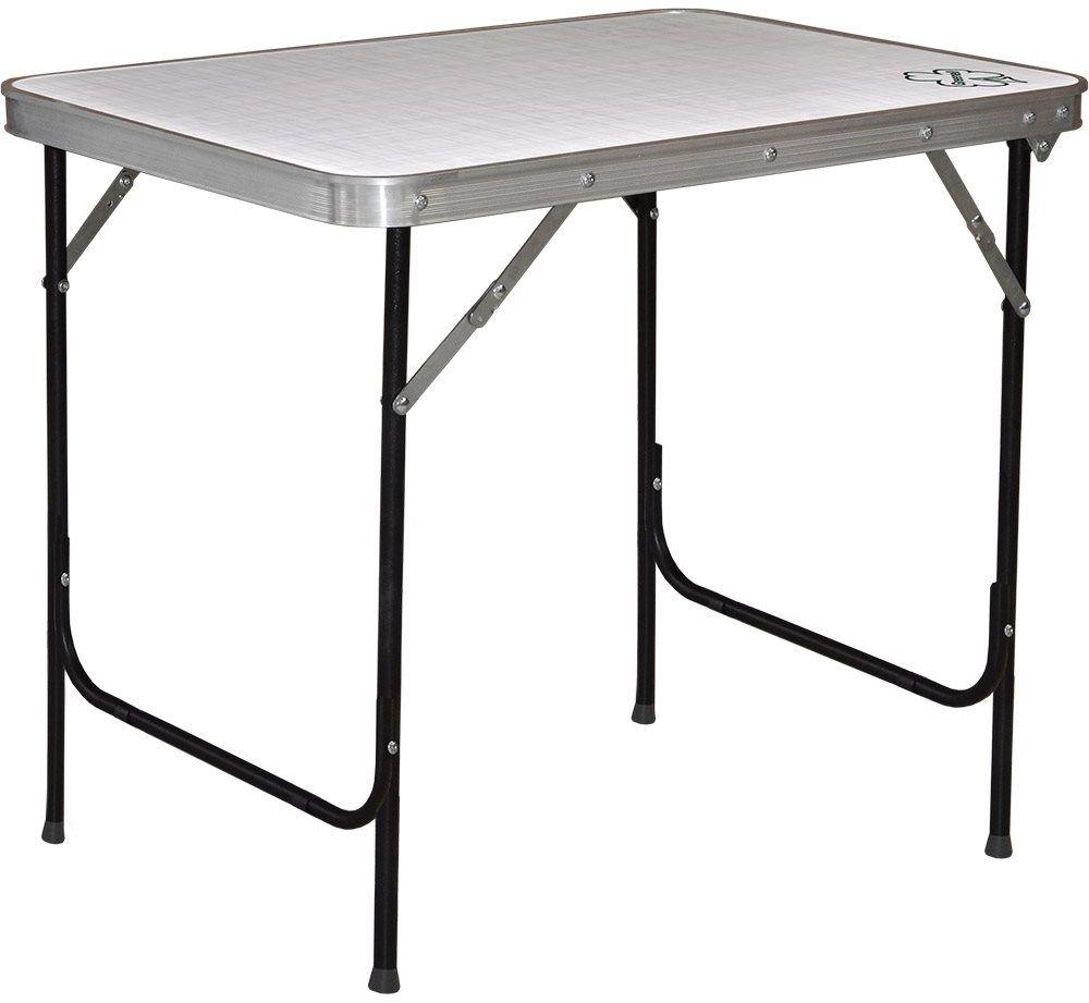 Стол складной Greenell FT-13 R22, цвет: серый, 30 кг
