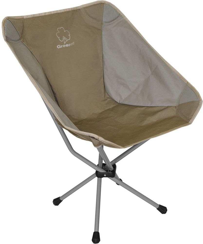 Стул складной Greenell Эйр FC-22, цвет: коричневый, 53 х 47 х 70 см палатки greenell палатка дом 2