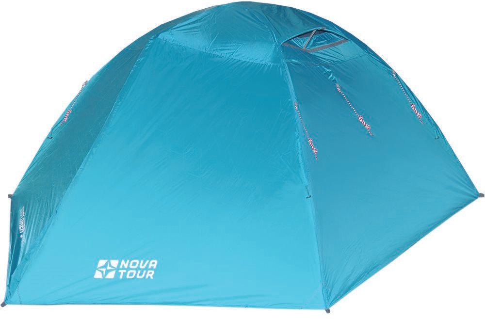 Палатка Nova Tour Эксплорер 3 V2, цвет: нави