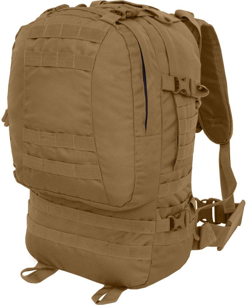 Рюкзак тактический HunterMan Nova Tour Дрейп, цвет: коричневый, 50 л сумка дорожная nova tour кэйр цвет коричневый 48 л